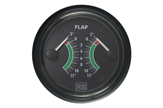 Flap angle position instruments