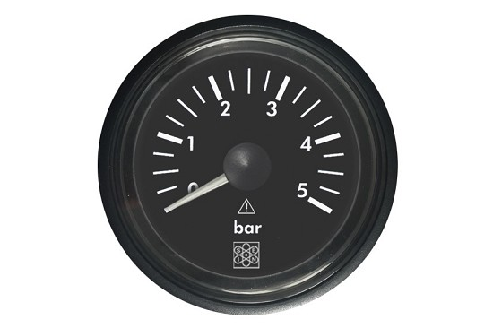Pressure gauges 0-5 Bar input CAN Bus and VDO