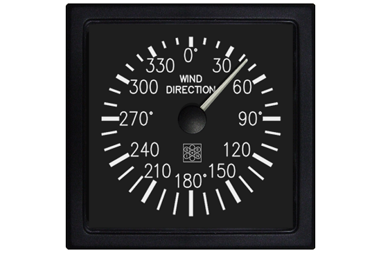 Wind direction indicator
