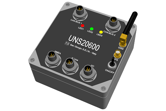 Remote engine monitoring system UNS20600
