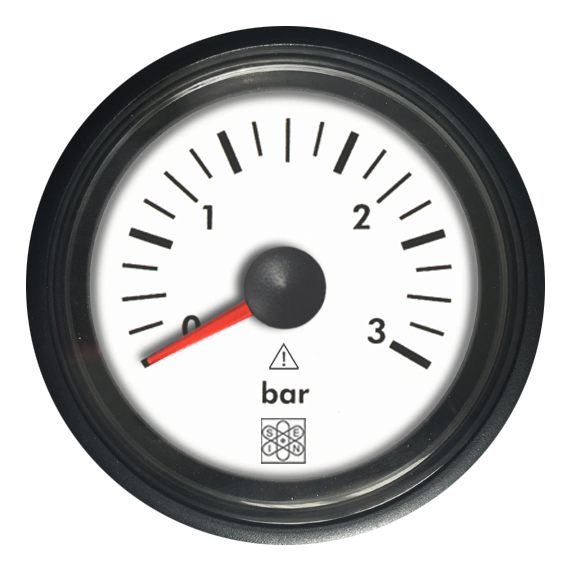 Pressure gauge 0-3 bar NMEA2000 input Engine monitoring-Pressure